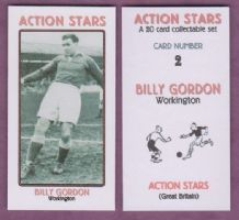 Workington Billy Gordon 2